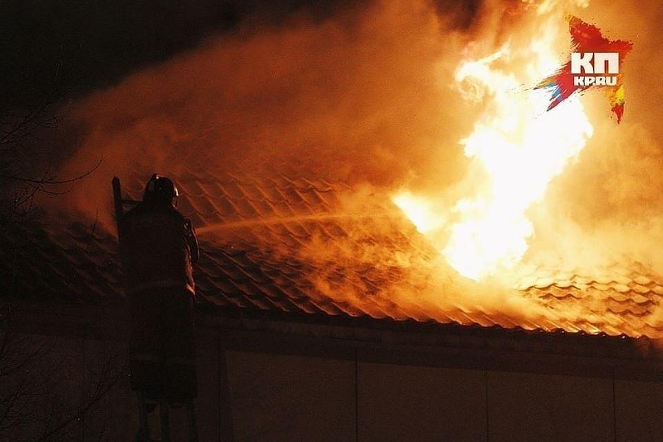 Жильцы физически не пострадали, но крыши над головой лишились