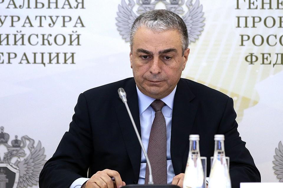 Заместитель генерального прокурора РФ Саак Карапетян в 2016 году. ФОТО Валерий Шарифулин/ТАСС
