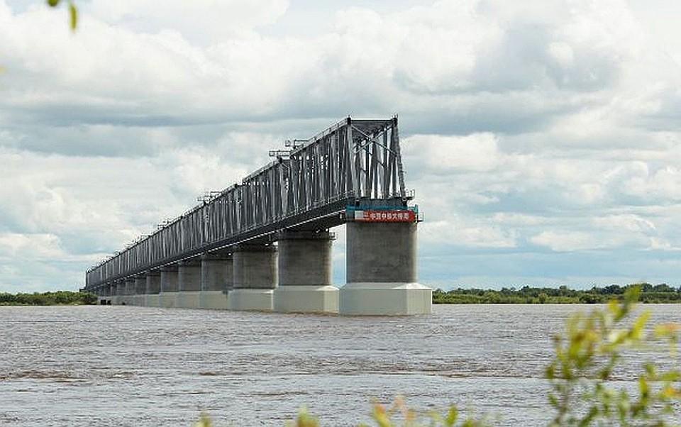 Китайская часть моста через Амур. Фото: eao.ru