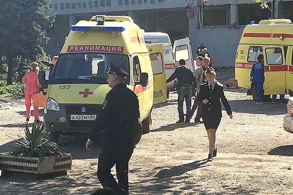 Жертвами взрыва стали 17 человек, сообщает пресс-служба СК. Фото: kerch.fm