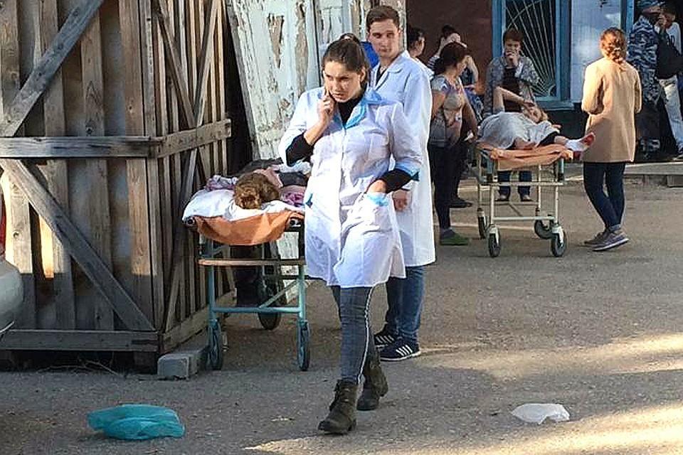 В больницах опознаны все погибшие о пострадавшие в Керчи