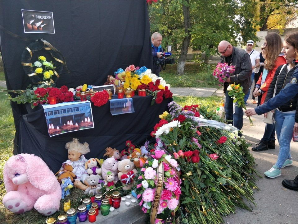 Трагедия произошла в Керчи днем 17 октября.