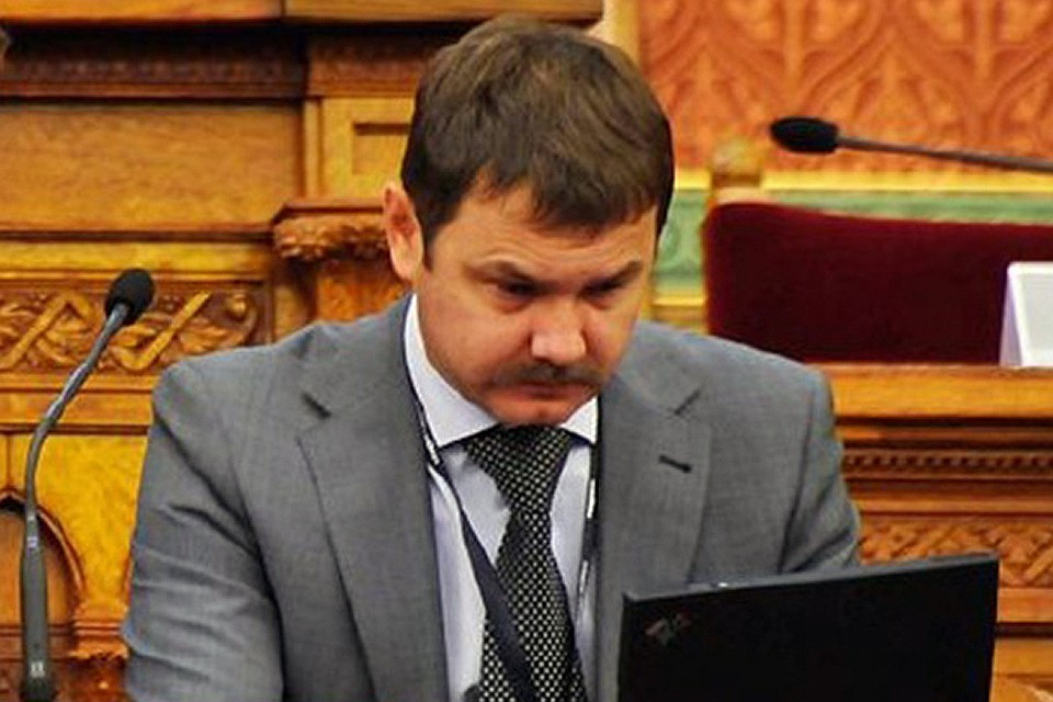 Михаил Бочкарев на семинаре в Будапеште, 2012 год. ФОТО archiv.parlament.hu