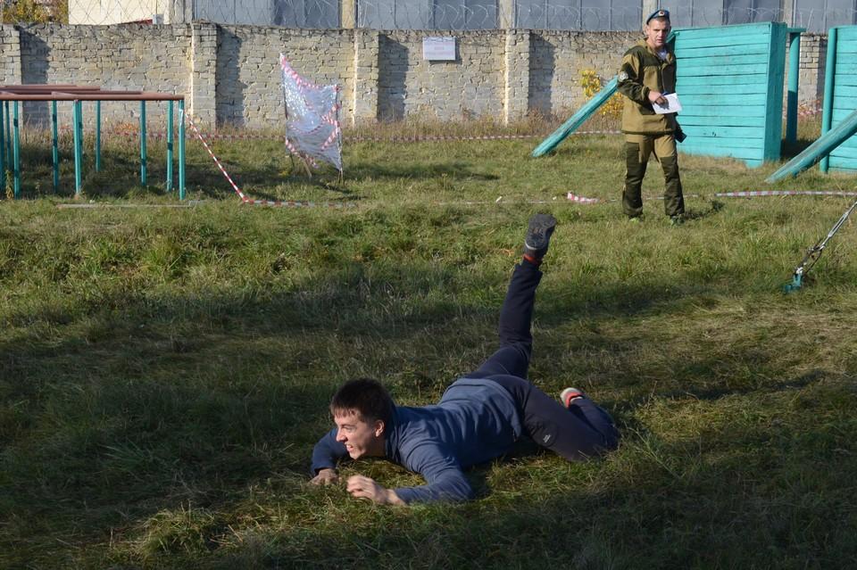 Триатлон «Студенческий Спецназ»