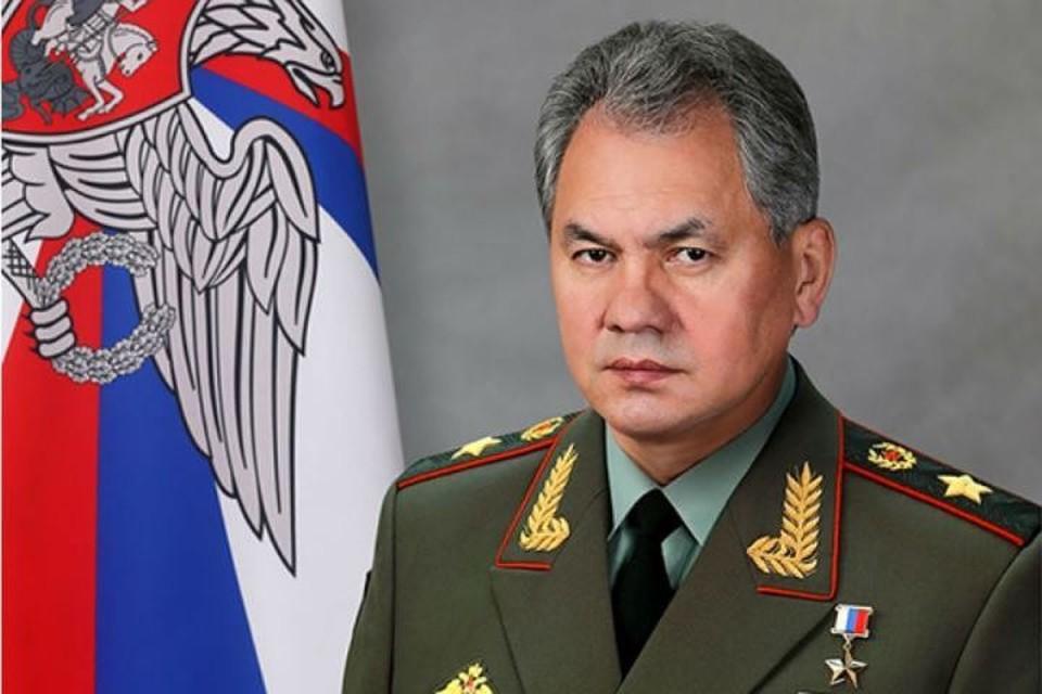 Глава Минобороны РФ Сергей Шойгу