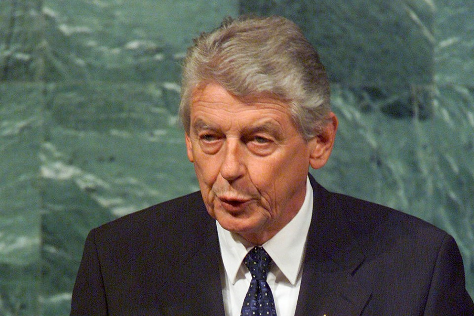 Бывший премьер Нидерландов Вим Кок
