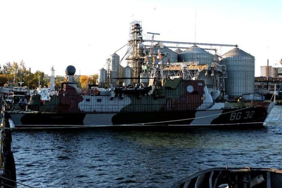 Пограничный сторожевой корабль ПСКР-705 «Донбасс». Фото: Facebook/ информационный портал «Тиск»