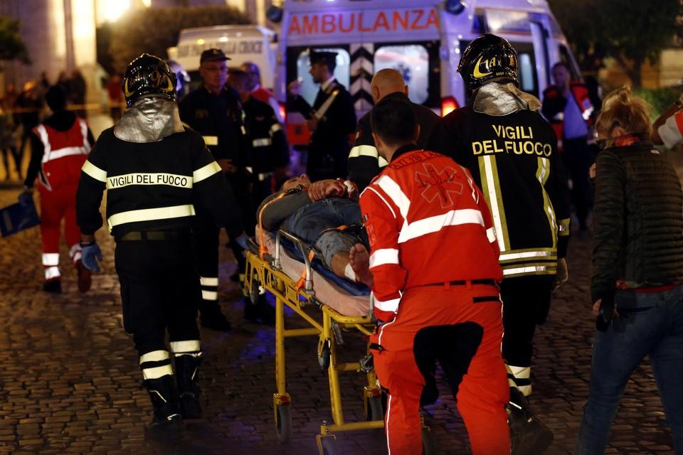 Россиянин получил ножевое ранение около стадиона в Риме