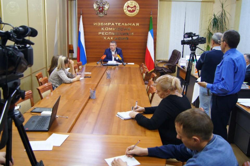 В Хакасии состоялся второй тур выборов главы республики.