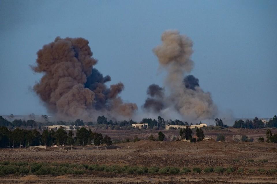 Коалиция США применила бомбы с белым фосфором в Сирии