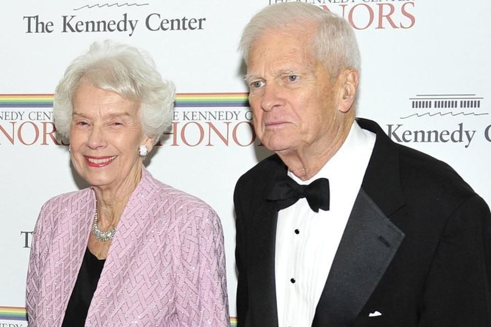 Бывший директор библиотеки конгресса США, русист Джеймс Хедли Биллингтон с супругой Марджори Биллингтон