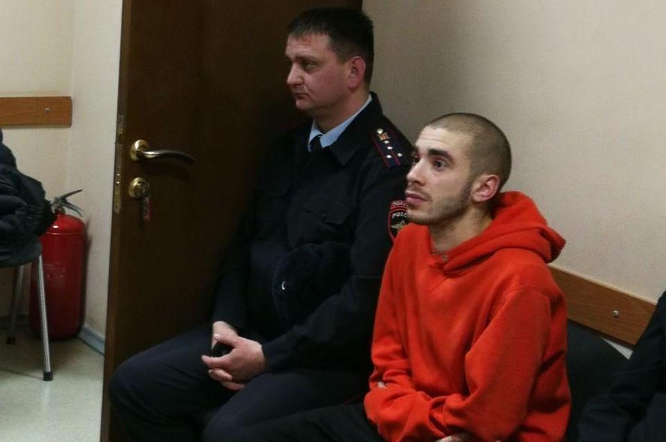 Рэпер Хаски, он же Дмитрий Кузнецов в Первомайском суде Краснодара