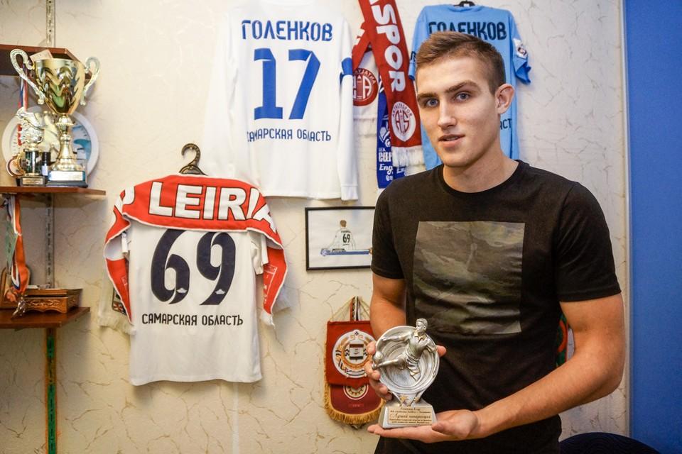 Егор Голенков на юношеском уровне уже имеет много наград, но стремится к большему
