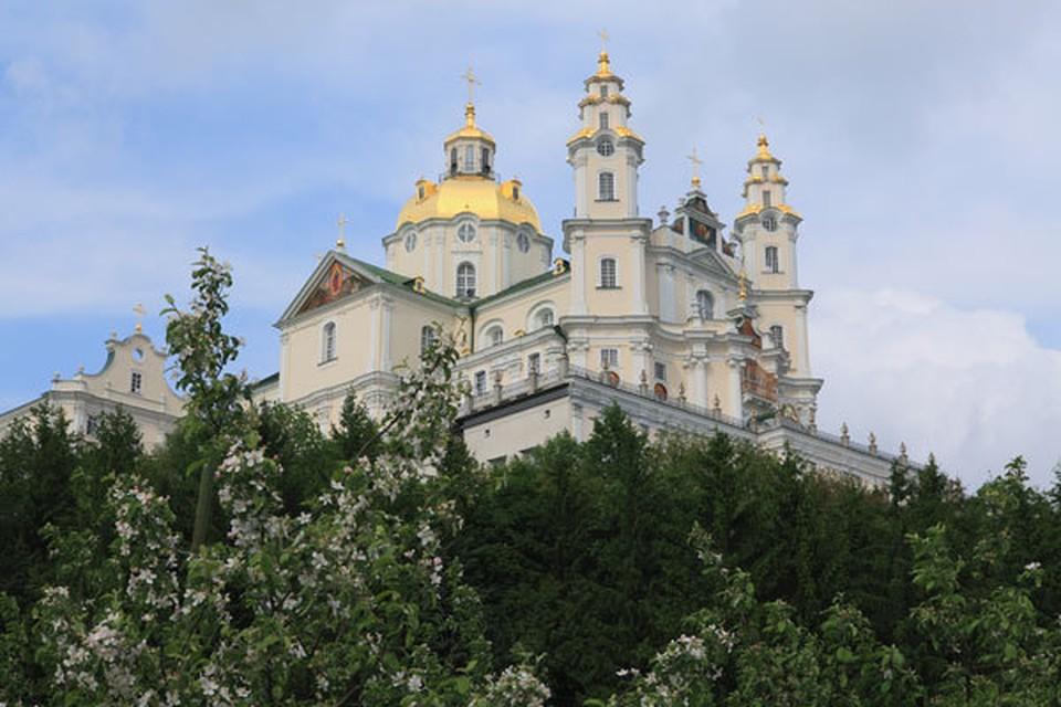 Почаевскую лавру не передадут в УПЦ Фото: официальный сайт Почаевской лавры