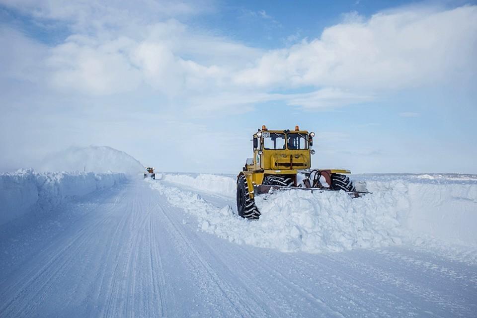 Первую зимнюю трассу откроют с 6-10 декабря. Фото: правительство ЯНАО.