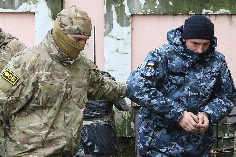 Украинских моряков разместят в разных камерах столичного СИЗО Лефортово.