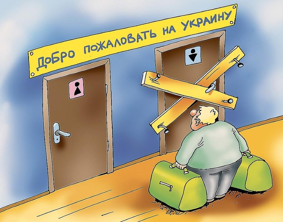 От 16 до 60-ти: Украина закрыла въезд русским мужчинам