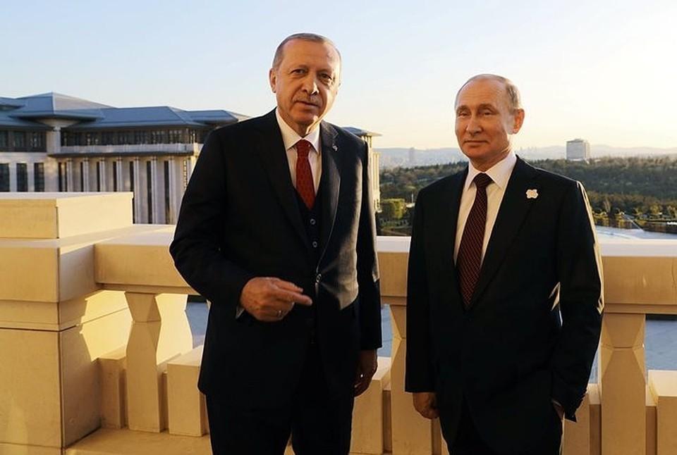Эрдоган предложил Путину провести еще один саммит по ситуации в сирийском Идлибе