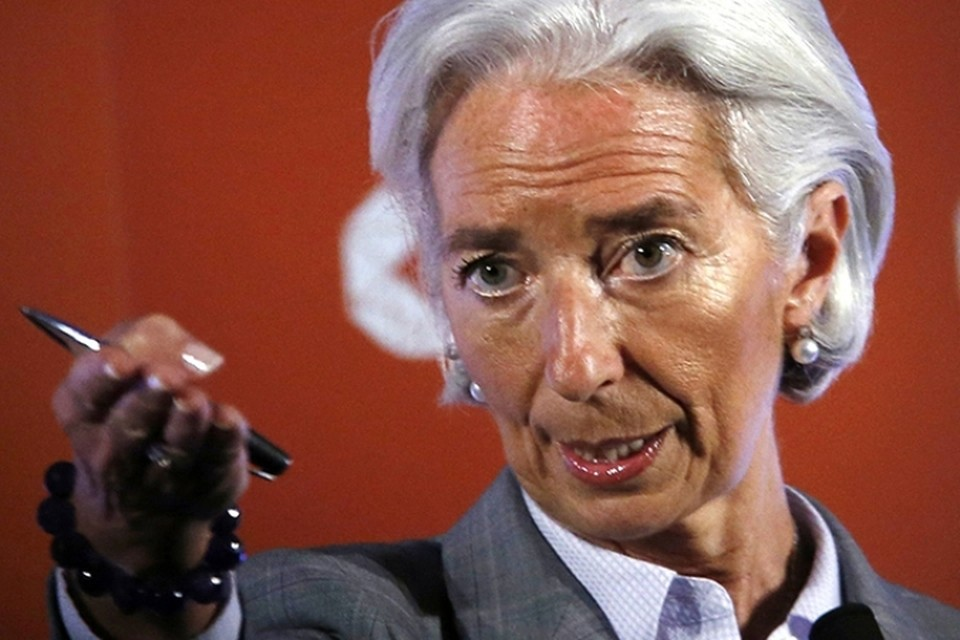 Глава Международного валютного фонда (МВФ) Кристин Лагард
