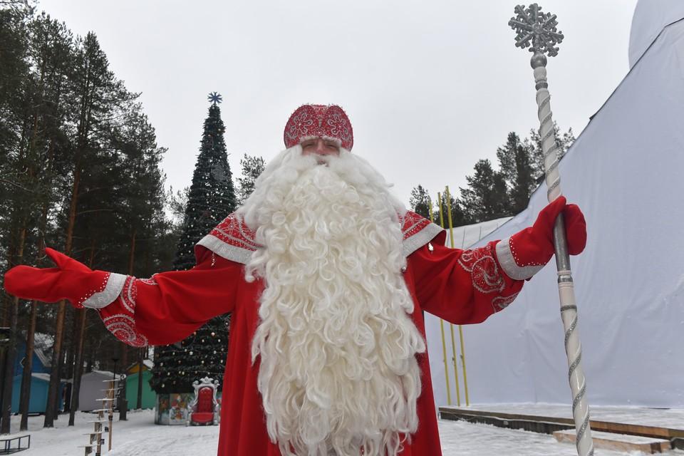 Всероссийский Дед Мороз пожелал Путину уверенности