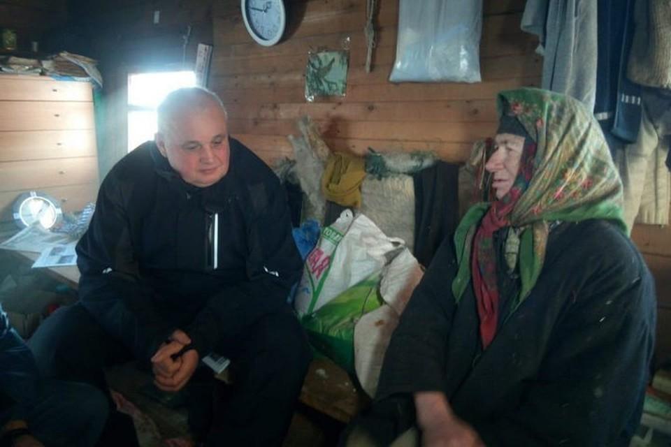 Сергей Цивилев отметил, что у Агафьи Лыковой дома прохладно