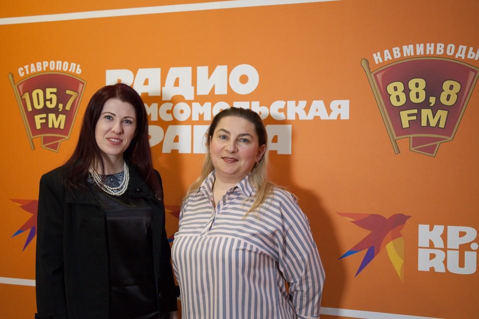 Финансовый консультант Любовь Стецюк и менеджер Елена Заруднева