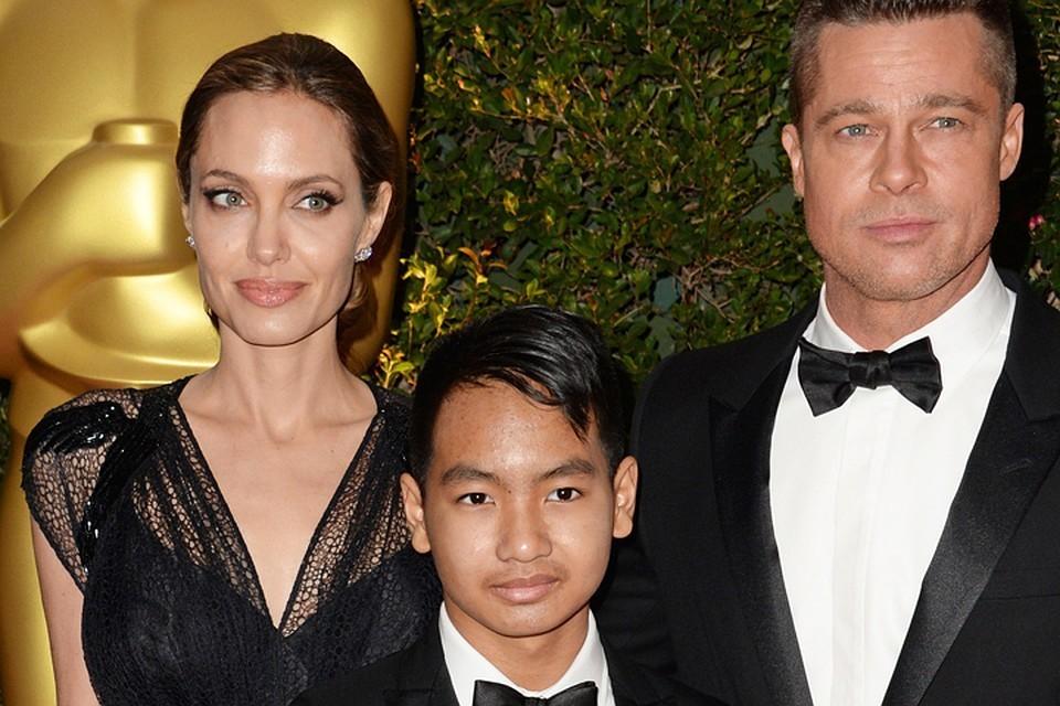 Анджелина и Брэд усыновили Пакса, когда ему было три года.