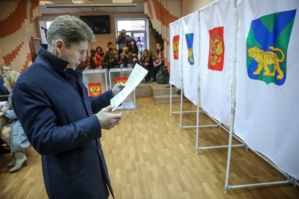 Губернатор Приморья Олег Кожемяко: Я сам критикую действующую власть!