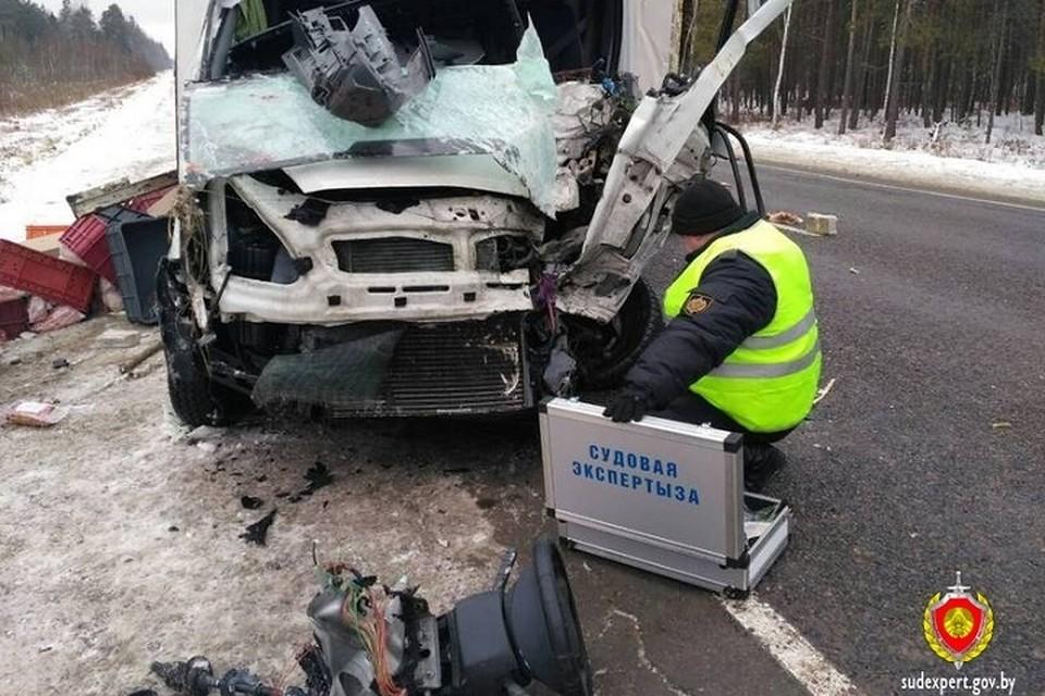 Водитель грузовика по предварительной информации уснул за рулем. Фото: sudexpert.gov.by.