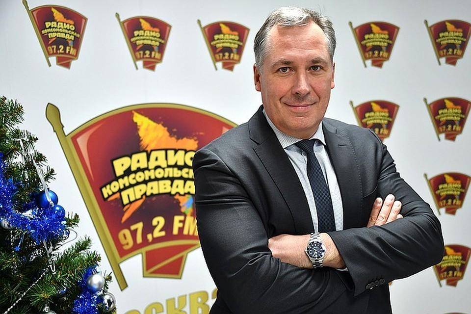 Глава Олимпийского комитета Станислав Поздняков
