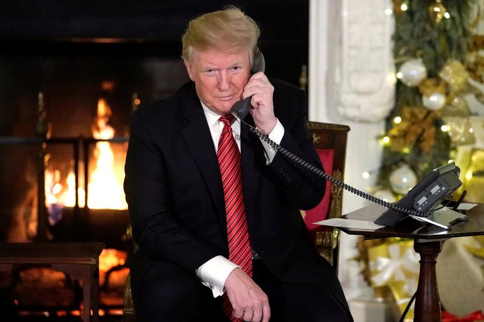 Дональд Трамп рассказал семилетнему мальчику, что Санта-Клауса не существует