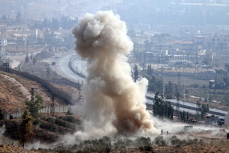 Израиль вновь атаковал Сирию