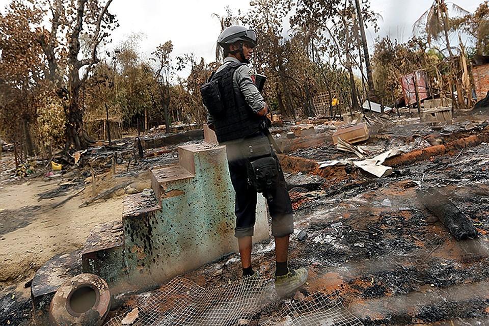 Боевики атаковали полицейских в Мьянме