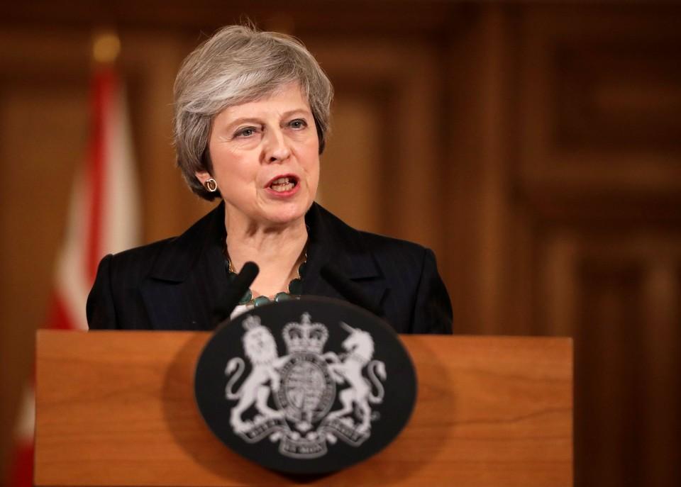 Премьер-министр Соединенного Королевства Тереза Мэй