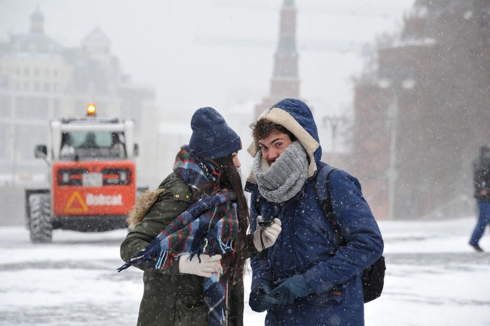 В понедельник метель, во вторник умеренный снегопад