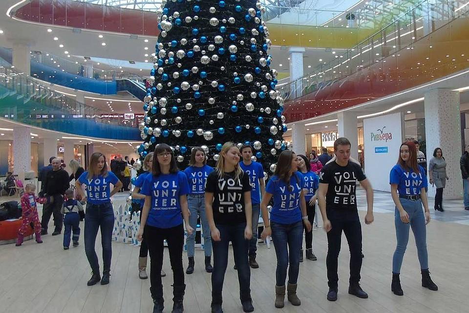 f314f163193f В Липецке прошел флешмоб подростков и полиции «Не дай себя обмануть  мошенникам»