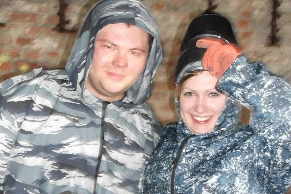Кирилл Лариков с женой