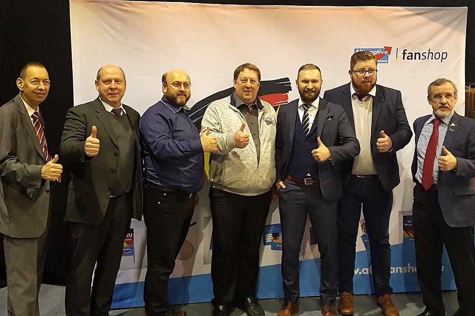 Члены партии АдГ на съезде в Саксонии. Фото предоставлено пресс-службой