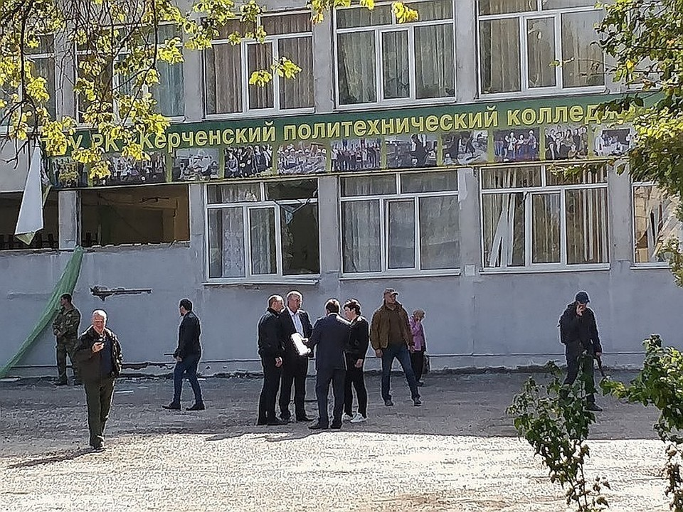 Первый этап ремонтных работ в Керченском колледж завершен