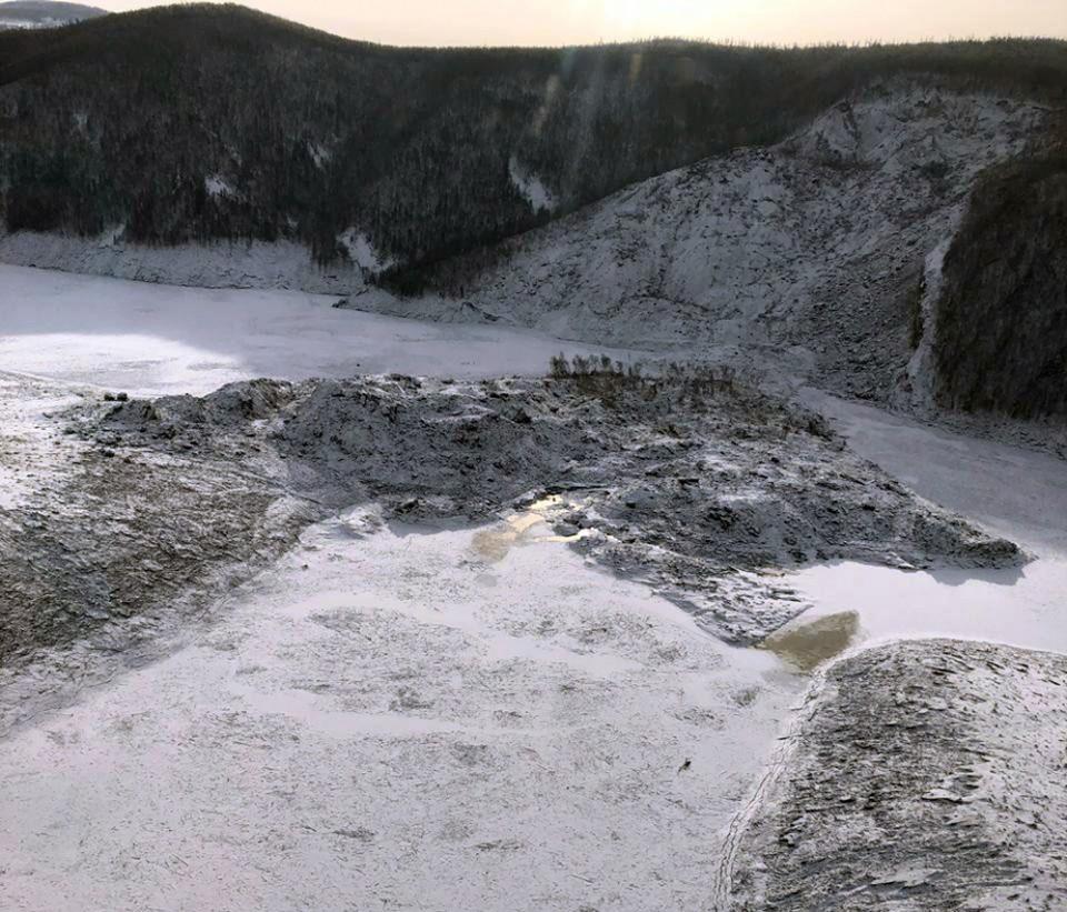 В Хабаровском крае из-за оползня на реке Бурея ввели режим ЧС