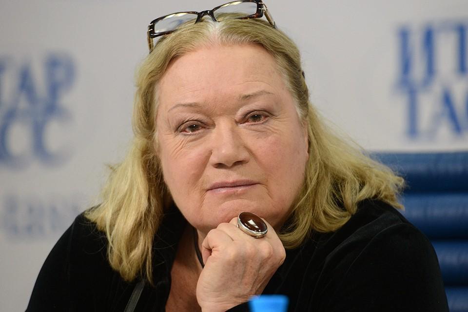 Актриса Людмила Полякова. Фото ИТАР-ТАСС/ Юрий Машков
