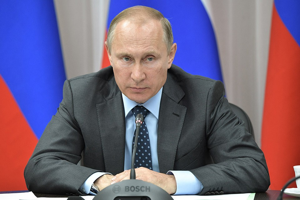 Путин объявил о приостановке участия в ДРСМД. Фото: Алексей Никольский ТАСС