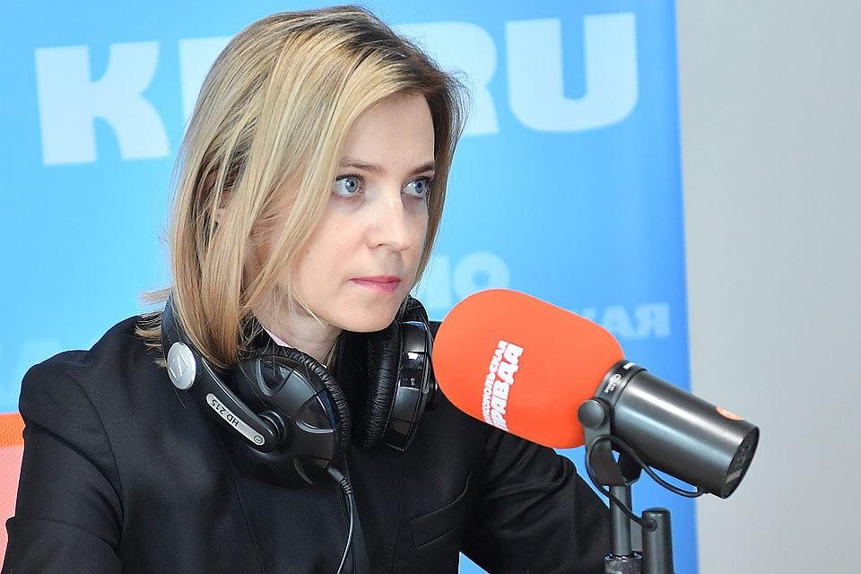 """Наталья Поклонская в редакции """"КП""""."""