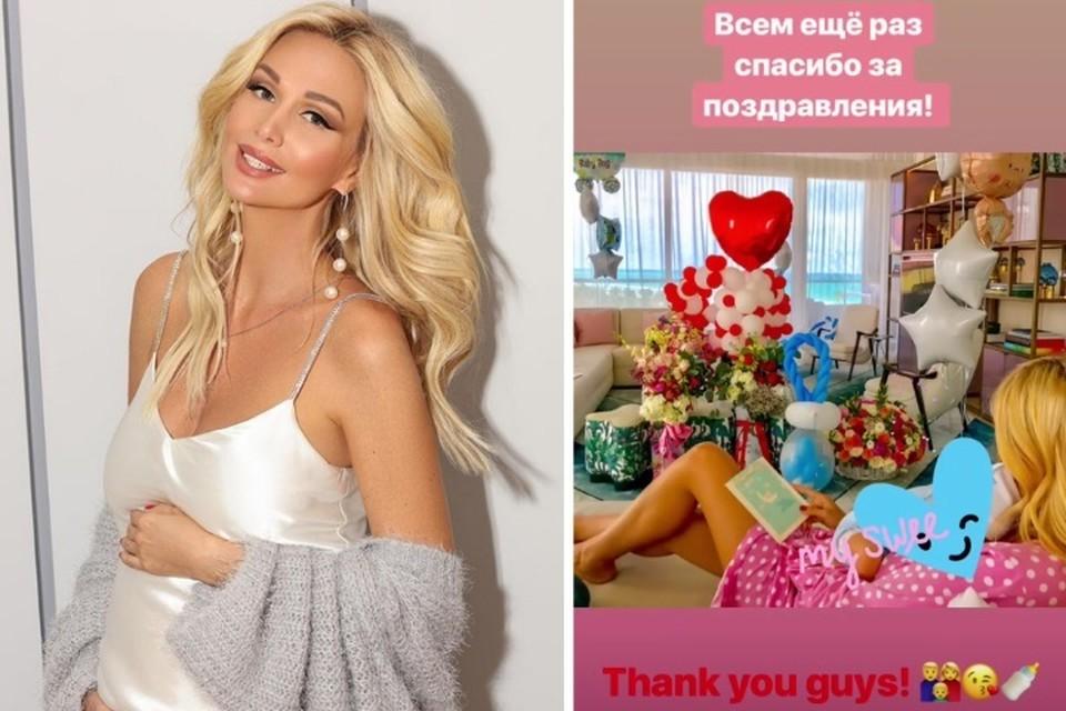 Самая сексуальная блондинка России Виктория Лопырева познает все радости материнства. Фото: Инстаграм Виктории Лопыревой.