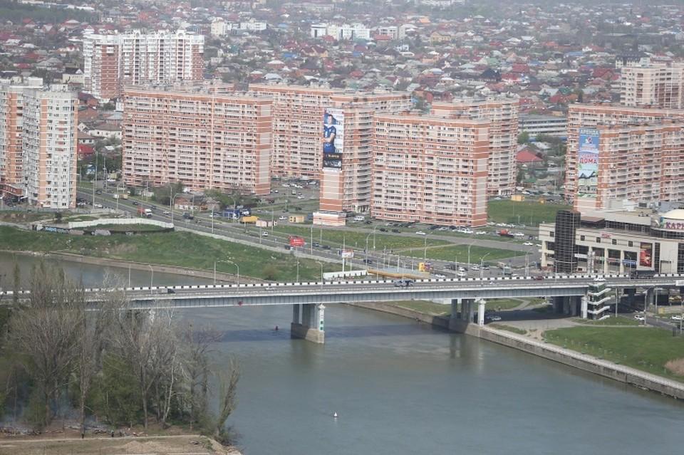 Река Кубань в Краснодаре Фото:krd.ru