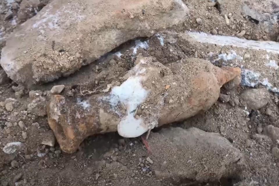 На северо-западе Москвы была обнаружена мина