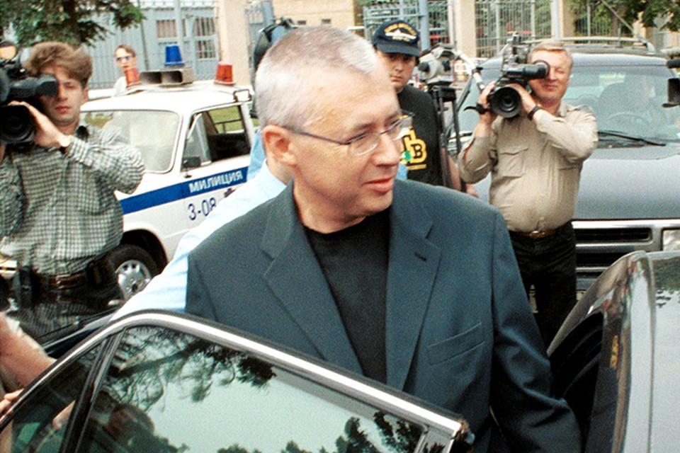 Малашенко был одним из руководителей штаба Бориса Ельцина на выборах 1996-го и отвечал в нем за пиар в СМИ. Фото Виталия Белоусова (ТАСС)