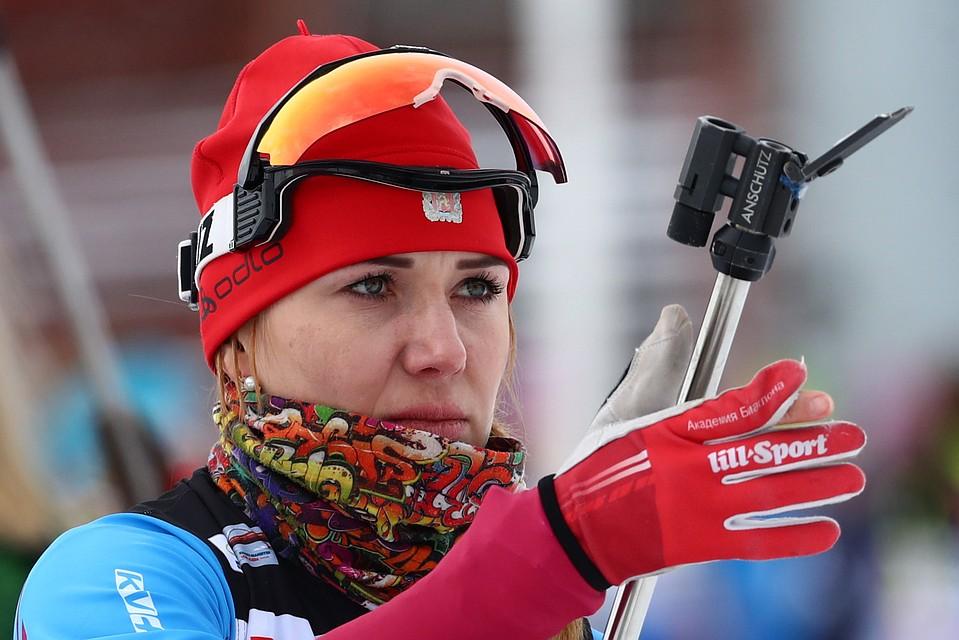Российские биатлонистки фото