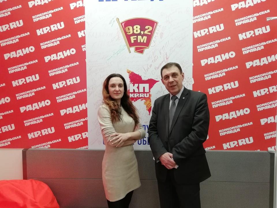 """В студии радио """"КП-Самара"""" обсудили"""