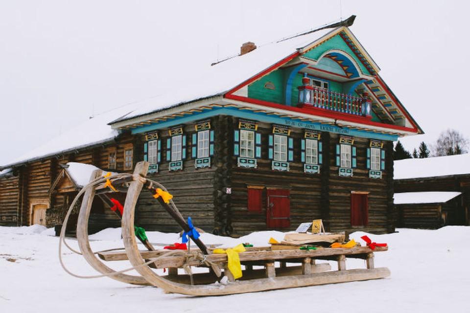 Семенково — архитектурно-этнографический музей неподалёку от Вологды.